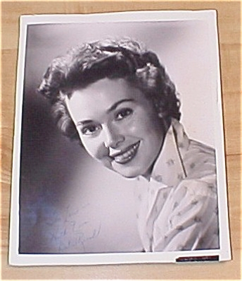 Barbara Rush Autograph Photo, Autographed Photo