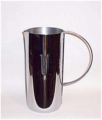 Revere Deco Chatham Chrome Water Pitcher