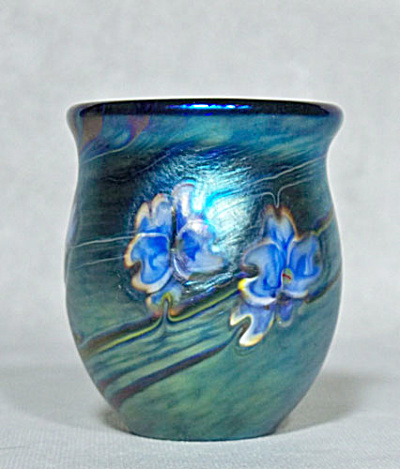 Art Glass Toothpick Holder: Salazar 2013