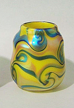 Carl Radke 2014 Tall Yellow With Blue Tut Tp