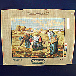 Margot De Paris Needlepoint Canvas Les Glaneuses To Stitch