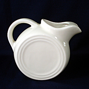 Coors China Off White Tilted Disc Pitcher Restaurant Ware