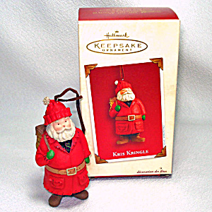 Hallmark 2003 Kris Kringle Keepsake Christmas Ornament