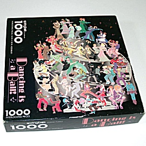 Dancing Is A Ball 1000 Piece Springbok Jigsaw Puzzle
