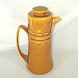Homer Laughlin Golden Harvest Coffee Pot