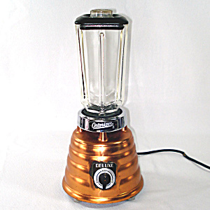 1950s Osterizer Copper Deluxe Beehive Blender