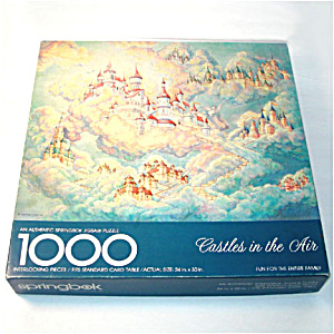 Castles In The Air Springbok 1000 Piece Jigsaw Puzzle