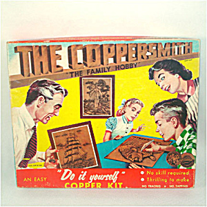 Coppersmith 1950s Embossed Copper Southern Belle Picture Kit