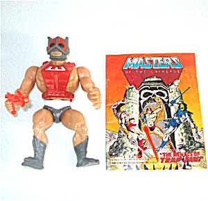 Zodac 1982 He-man Masters Of The Universe Action Figure
