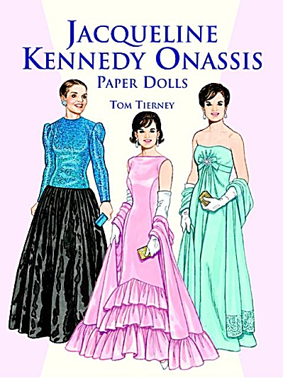 Jacqueline Kennedy Onassis Paper Dolls, Tierney 1999