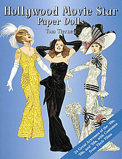 Hollywood Movie Star Paper Dolls, Tierney, Dover, 2002