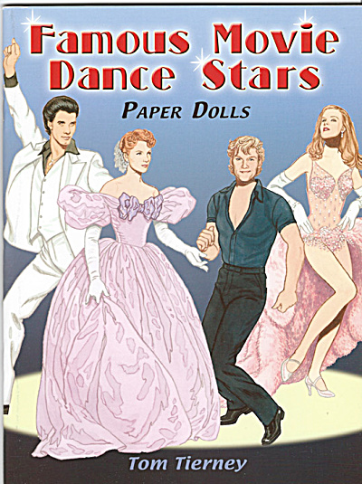 Famous Movie Dance Stars Paper Dolls, Tierney, Dover, 2006