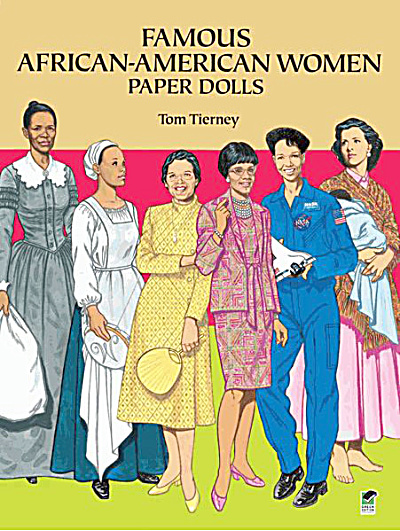 Famous African-american Women Paper Dolls, Tierney, Dover
