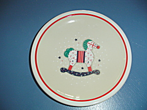 Noritake Epoch Holiday Joy Salad Plates