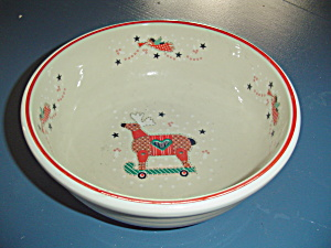 Noritake Epoch Holiday Joy Serving Bowl