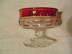 Indiana Glass Kings Crown Thumbprint Sherbet/champagne