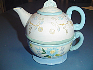Tracy Porter 1 Cup Teapot - Teapot, Cup, Lid