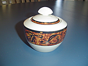 Christopher Stuart Optima Morella Covered Sugar Bowl