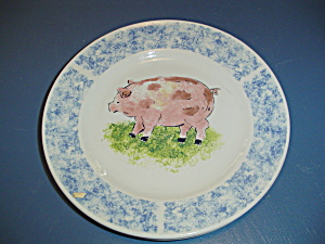 Tabletops Country Barn Sheep Dinner Plate