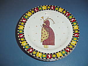 Sakura Debbie Mumm Gathering Of Angels Salad Plate Style 4