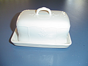 Tablestops Versailles Covered Pound Size Butter Dish