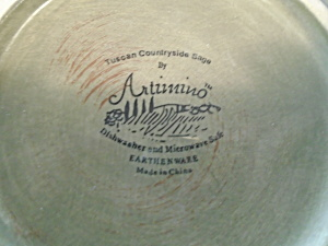 Artimino Tuscan Countryside Sage Lunch Plates