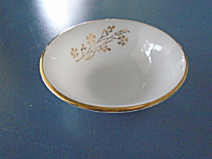 Federal Glass Meadow Gold Dessert Bowls