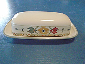 Mikasa Studio Nova Timberline Covered Butter Dish
