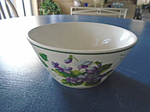 Waverly Sweet Violets Cereal Bowl