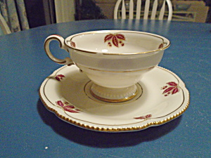 Castleton Jubilee Cups And Saucers Antique