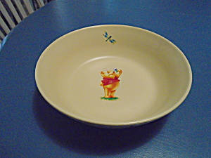Disney Winnie The Pooh Large Serving Bowl Stoneware