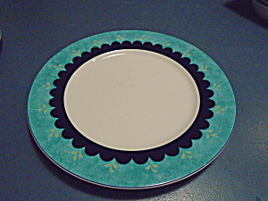 Lenox Bedazzle Turquoise Dinner Plates