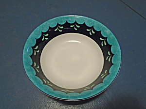 Lenox Bedazzle Turquoise Cereal Bowls