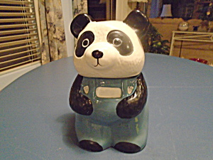 Panda Cookie Jar 1985