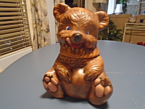 California Originals Bear Cookie Jar Vintage