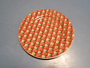 Fitz And Floyd Basketry Salad Plates