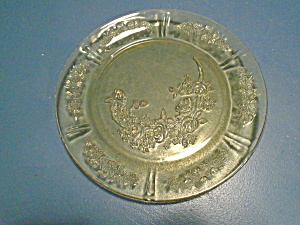 Federal Cabbage Rose Depression Glass Bread/butter Plates
