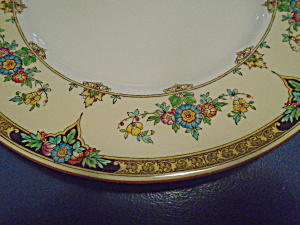 Antique Vintage Minton Eloise Lunch Plates Dated Aug. 3, 1926