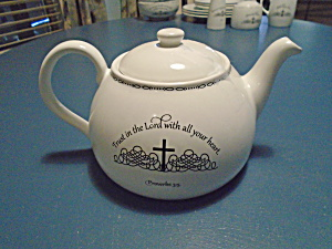 Coventry Table Graces Bible Verses Tea Pot