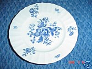 Royal Worcester Blue Sprays Salad Plates