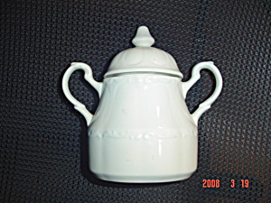 J&g Meakin Colonial Covered Sugar Bowl