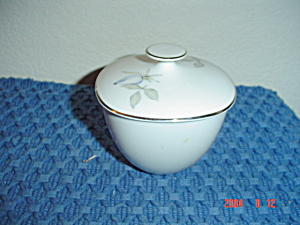 Rosenthal Blue Roses Covered Sugar Bowl