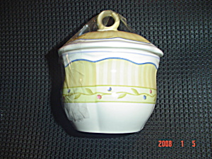 Mikasa Studio Nova Provence Garden Covered Sugar Bowl