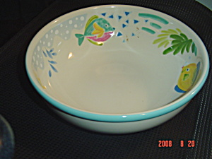 Mikasa Studio Nova Barrier Reef Large Salad Bowl
