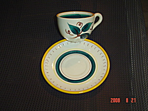 Stangl Fruit Cups And Saucers