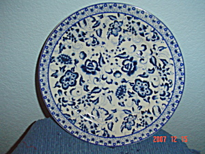 The Bombay Company China Decorator Plate #1