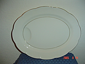 Theodore Haviland New York Leeds Oval Platter