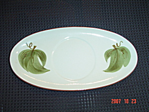 Stangl Orchard Song Gravy Boat Tray Only