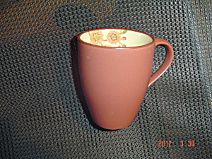 222 Fifth Pts Jacobean Red Mugs
