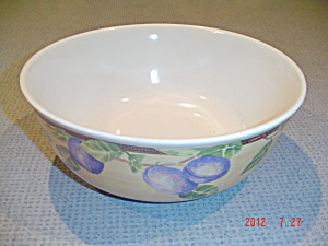 Interiors Newberry 4 Qt. Stoneware Salad Serving Bowl